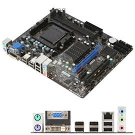 MSI 760GM-P23 (FX) DDR3 1333MHz Vga DVI 16x AM3+