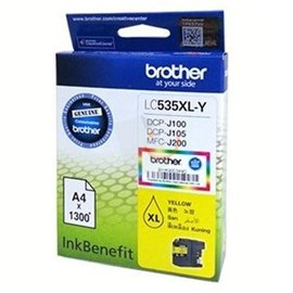 Brother LC535XL-Y Sarı Kartuş DCP-J105 MFC-J200