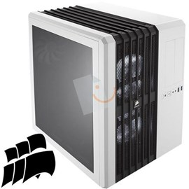 Corsair CC-9011048-WW Carbide Series Air 540 Beyaz Led Psu'suz Küp Kasa