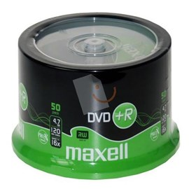 MAXELL DVD+R 16X 50li Cakebox 275640.99.IN