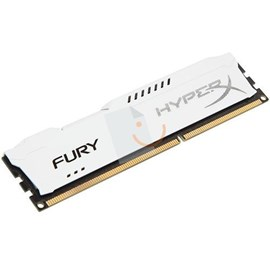 HyperX HX316C10FW/8 Fury White 8GB 1600MHz DDR3 CL10