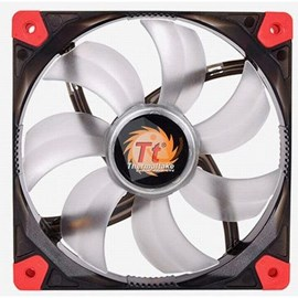 Thermaltake CL-F017-PL12RE-A Luna Anti-vibration 120 mm Kırmızı LEDli Sessiz Fan