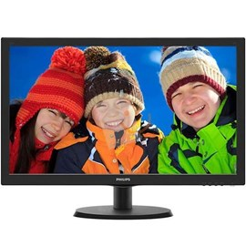 "Philips 223V5LHSB2/01 21.5"" 5ms Full HD HDMI D-Sub Led Monitör"