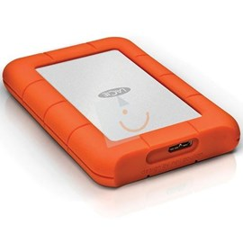 "LaCie LAC301558 Rugged Mini 1TB USB 3.0/2.0 2.5"" Harici Disk"