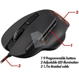 Trust 21186 GXT 162 4000Dpi Optik Usb Gaming Mouse