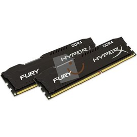 HyperX HX424C15FBK2/8 Fury Black 8GB (2x4GB) 2400MHz DDR4 CL15 Dual Kit