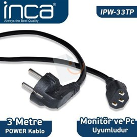 Inca IPW-33TP Power Kablosu 3m