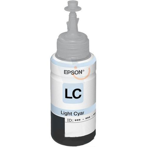 Epson T6735 Light Cyan Açık Mavi 70ml Kartuş L800