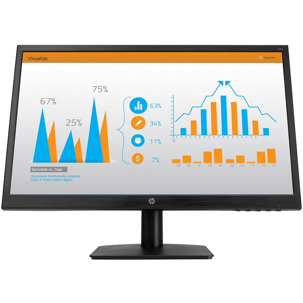 HP 3WP71AA N223 21.5 5ms Full HD HDMI D-Sub Led Monitör