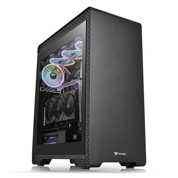Thermaltake S500 Tempered Glass MidTower Oyuncu Kasası