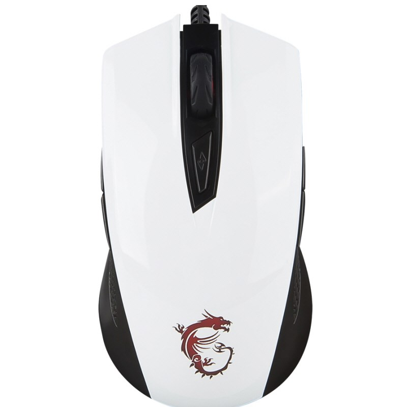 MSI Clutch GM40 Beyaz Gaming Mouse