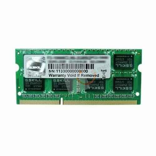 G.Skill F3-1600C11S-8GSQ Value 8GB DDR3 1600Mhz SODIMM