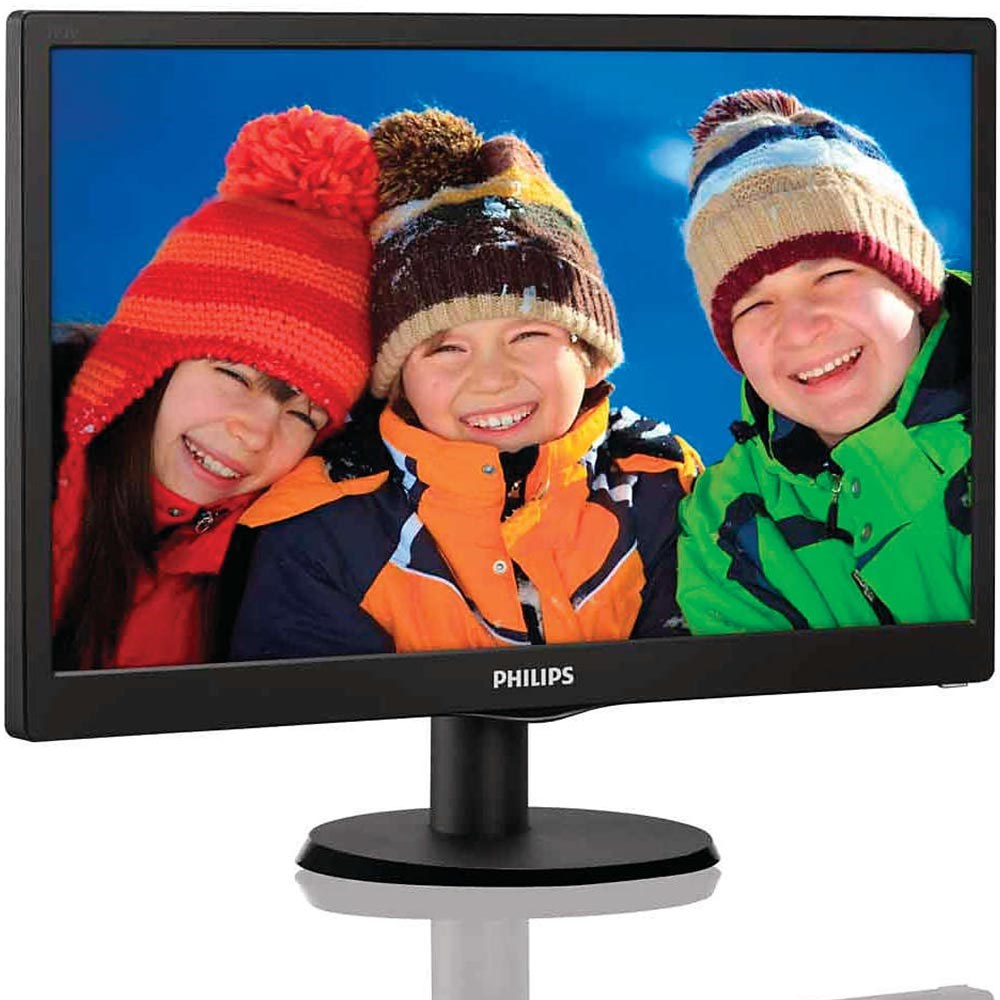 Philips 193V5LSB2/62 18.5 5ms D-Sub Siyah Led Monitör