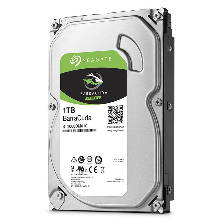 Seagate ST1000DM010 BarraCuda 1TB 64MB 7200Rpm 3.5 SATA 3 210MB/s