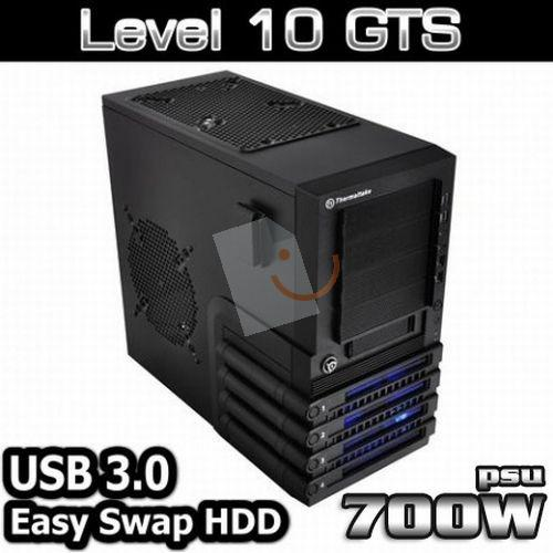 Thermaltake VO37001N2N Level 10 GTS 700W Oyun Kasası