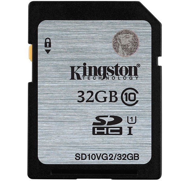 Kingston SD10VG2/32GB SDHC UHS-I Class10 32GB Bellek Kartı 45MB