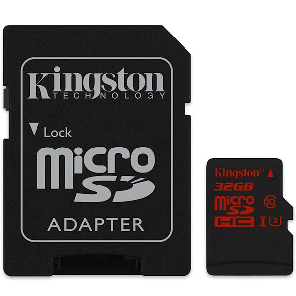Kingston SDCA3/32GB microSDHC 32GB UHS-I U3 Bellek Kartı 90MB
