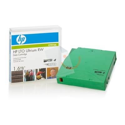 HP C7974A LTO4 Ultrium 1.6TB Read/Write Data Kartuş