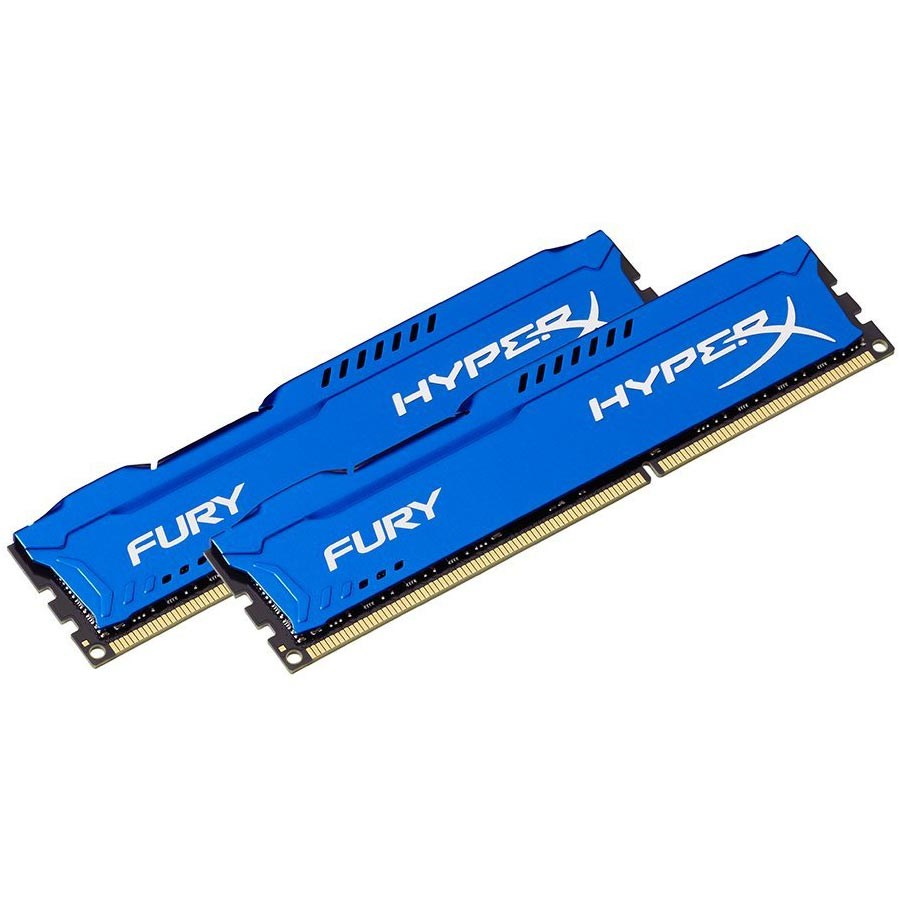 HyperX HX316C10FK2/16 Fury Blue 16GB Kit (2x8GB) 1600MHz DDR3 CL10 PnP