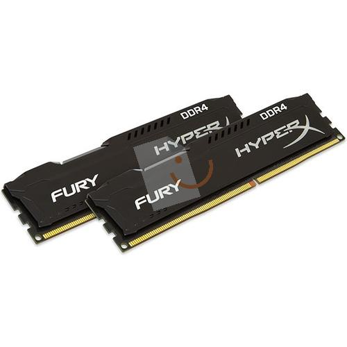 HyperX HX421C14FB2K2/16 Fury Black 16GB (2x8GB) 2133MHz DDR4 CL14 Dual Kit