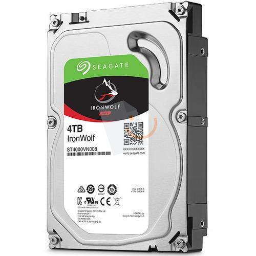 Seagate ST4000VN008 IronWolf 4TB 64MB 5900Rpm 3.5 SATA 3 NAS 180MB/s
