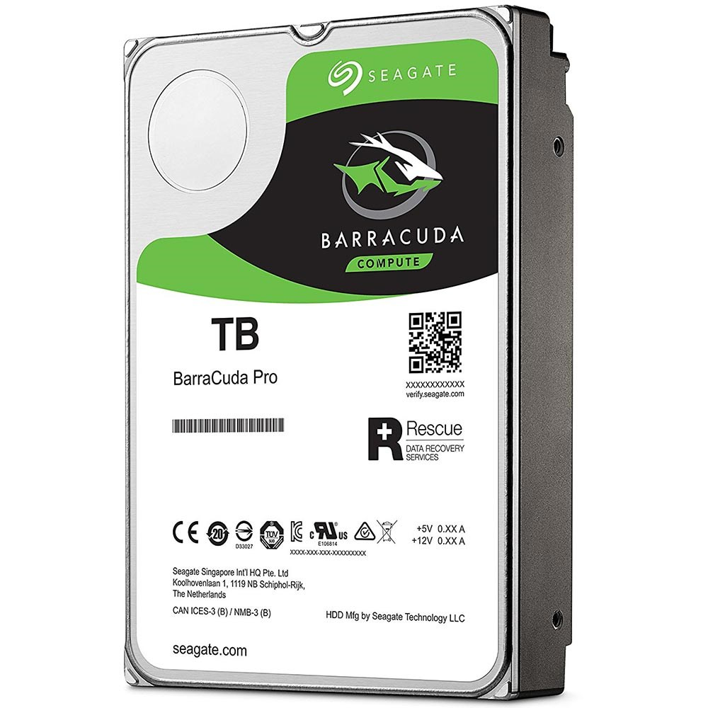 Seagate ST8000DM0004 BarraCuda Pro Rescue 8TB 256MB 7200Rpm 3.5 SATA 3 220MB/s