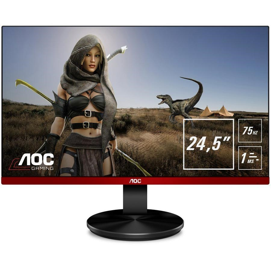 AOC G2590VXQ 24.5 1ms 75Hz Full HD HDMI DP FreeSync Oyuncu Monitörü