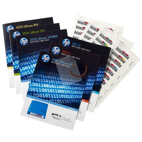 HP Q2013A LTO-6 Ultrium RW Bar Code Label Pack