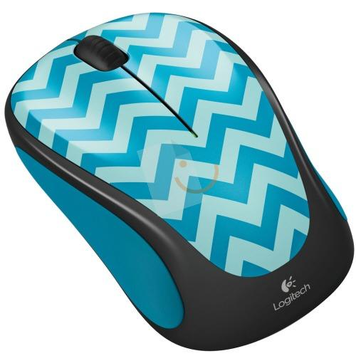 Logitech M238 Play Collection Teal Chevron Mouse 910-004520