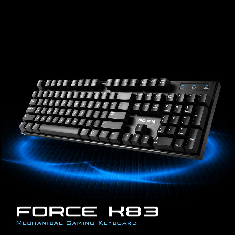 GK-FORCE-K83 Mechanical Gaming Keyboard