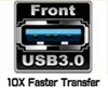 Front USB 3.0 Ports